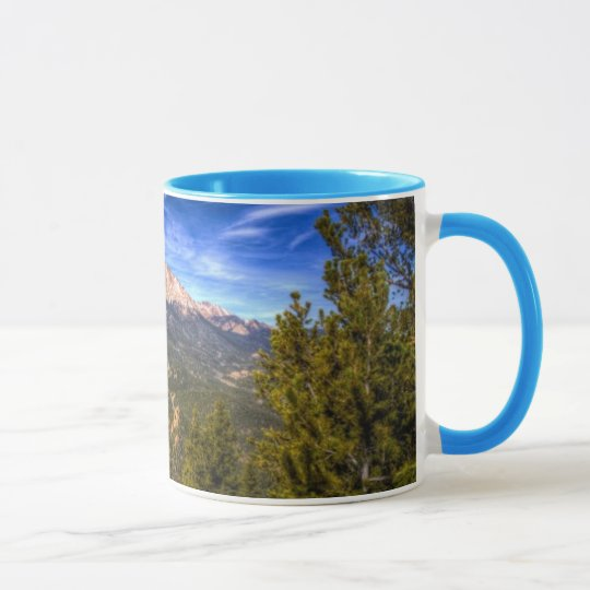 Pikes Peak and Blue Sky Mug