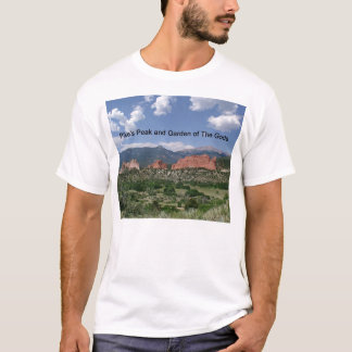Pike's Peak and Garden of The Gods T-Shirt