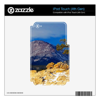 Pikes Peak and Lone Tree iPod Touch 4G Decal