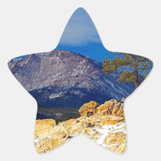 Pikes Peak and Lone Tree Star Sticker