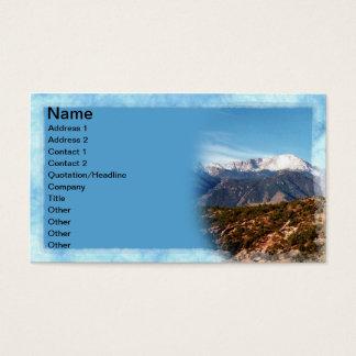 Pikes Peak Business Card