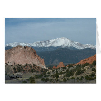 Pikes Peak Card