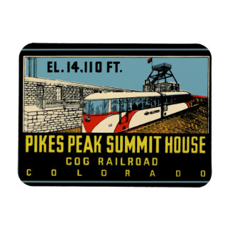 Pikes Peak Colorado Magnet