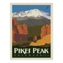 Pikes Peak, Colorado Postcard