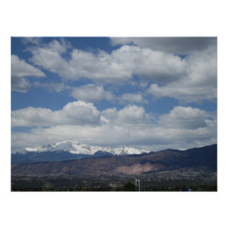 Pikes Peak Colorado Poster