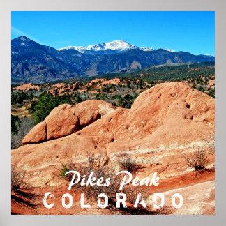 Pikes Peak, Colorado Poster