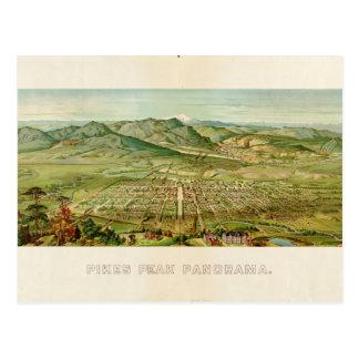 Pikes Peak, Colorado Springs, Colorado (1890) Postcard