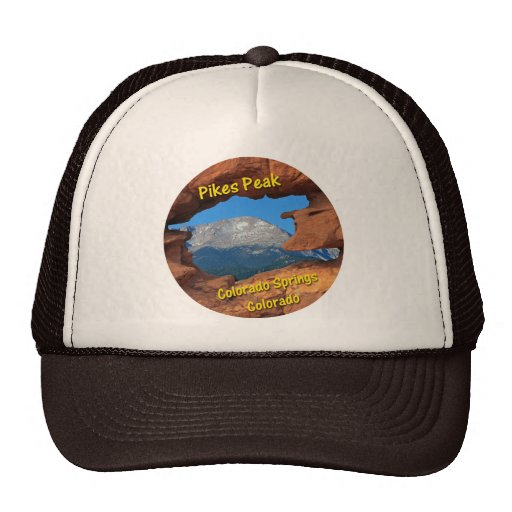 Pikes Peak, Colorado Springs, Colorado Mesh Hats