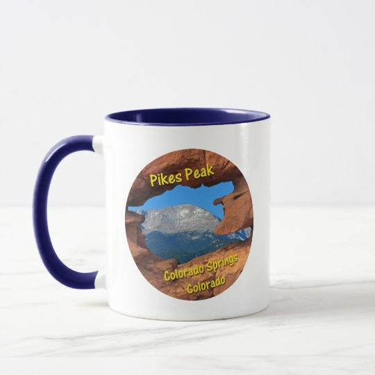 Pikes Peak, Colorado Springs, Colorado Mug