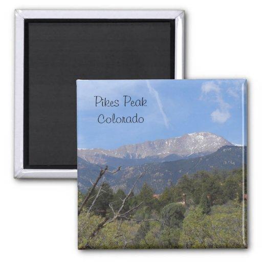 Pikes Peak- Colorado Springs Refrigerator Magnets