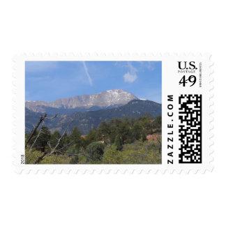 Pikes Peak- Colorado Springs Postage