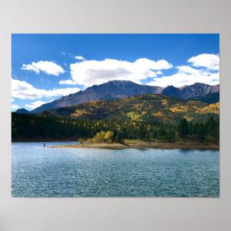 Pikes Peak - Fall Colors Poster