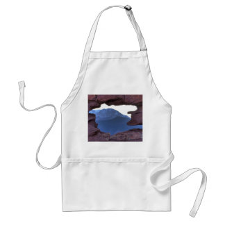 Pikes Peak Framed by Sandstone Hole Adult Apron