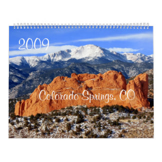 Pikes Peak Mountain, Colorado Springs, CO Calendar