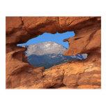 Pikes Peak Mountain Postcard