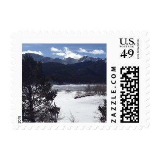 Pikes Peak Postage Stamp
