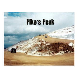 Pike's Peak Postcard
