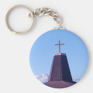 Pikes Peak Praised Keychain