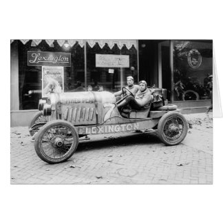 Pikes Peak Race Car, 1922 Card