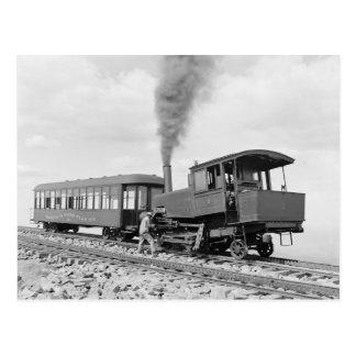 Pikes Peak Railway, 1900 Postcard