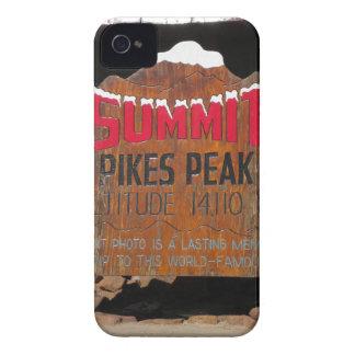 Pike's Peak Summit, Colorado iPhone 4 Case-Mate Case