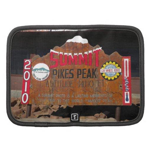 Pike's Peak Summit, Colorado Planners