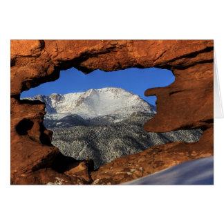 Pikes Peak Thru Hole Card