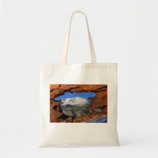 Pikes Peak Thru Hole Tote Bag