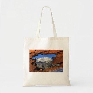 Pikes Peak Thru Hole Tote Bag