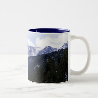 Pikes Peak Two-Tone Coffee Mug