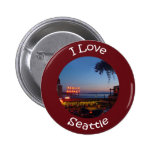 Pikes Place Market 2 Inch Round Button