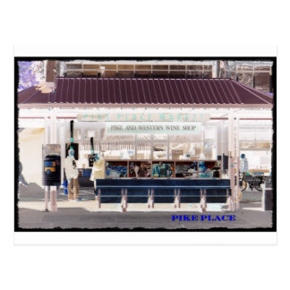 Pikes Place Postcard