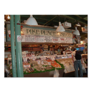 Pike's Place Poster