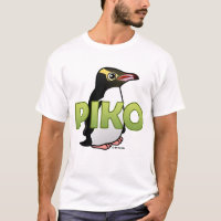 Piko, the Yellow-eyed Penguin Men's Basic T-Shirt