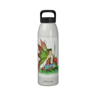 pikue mushroom fairy Water Bottle