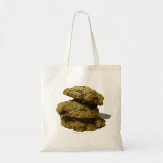 Pila de amantes de la galleta de las galletas bolsa tela barata