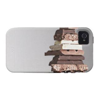 Pila de barras de chocolate Case-Mate iPhone 4 carcasas