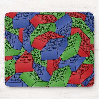 Pila de bloques huecos tapetes de raton