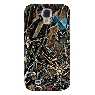 Pila de desperdicios del metal para reciclar funda para galaxy s4