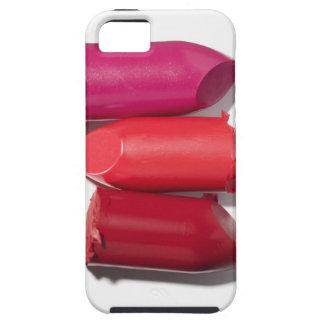 Pila de lápiz labial quebrado iPhone 5 Case-Mate carcasa