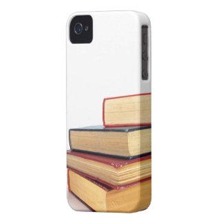 Pila de lectura de la biblioteca del caso 4S del iPhone 4 Case-Mate Cárcasas