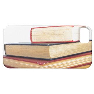 Pila de lectura de la biblioteca del caso del funda para iPhone SE/5/5s