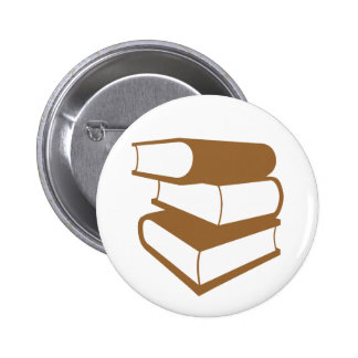 Pila de libros de Brown Pin