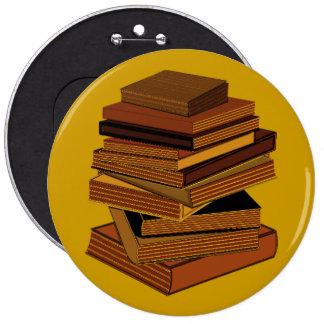 Pila de libros - GreenBrown Pin Redondo 15 Cm