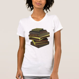 Pila de libros - GreenGrey Playera