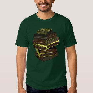 Pila de libros - GreenGrey Playeras