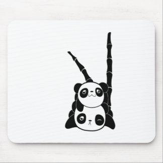 Pila de pandas alfombrilla de ratón