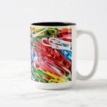 Pila de Paperclips Tazas De Café