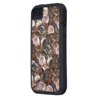Pila de peniques - un fondo de la extensión del iPhone 5 funda