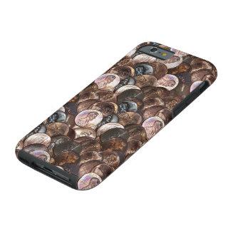 Pila de peniques - un fondo de la extensión del funda de iPhone 6 tough